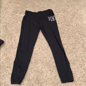 Victoria Secret PINK Black joggers